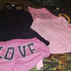 Other - Victoria's secret pink bundle of 6